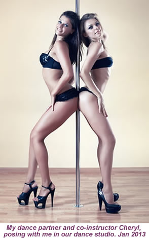 amber pole dancing classes
