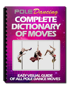 how to pole dance with dictionary of moves