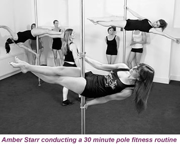 pole fitness class | pole dance instruction